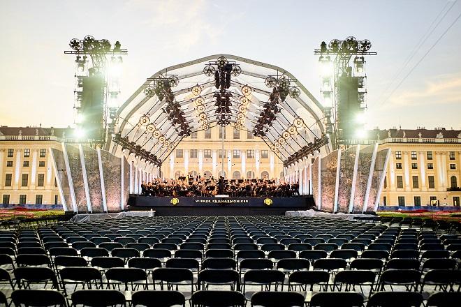 Bečka filharmonija: Koncert letnje noći 2020 (foto: © Max Parovsky)