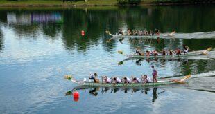 Dragon Boat festival na Adi Ciganliji (foto: Srpski Dragon Boat savez)
