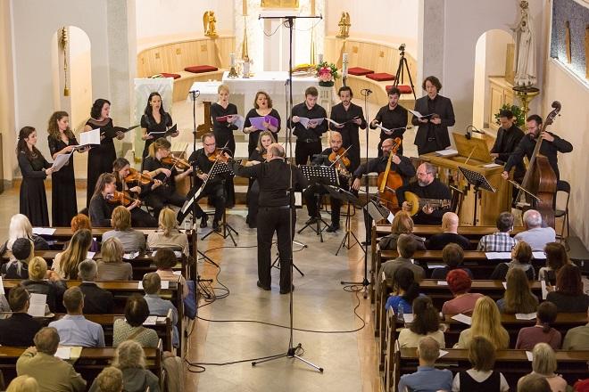 Festival rane muzike u crkvi Svetog Petra (fotografiju obezbedio Studio za ranu muziku)