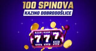 U Meridianu: Savršena kazino dobrodošlica - 100 besplatnih spinova