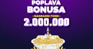 Meridian online kazino: Poplava bonusa donosi do sada neviđene nagrade