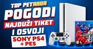 Meridianbet: Pogodi najduži tiket i na poklon dobijaš Sony Playstation
