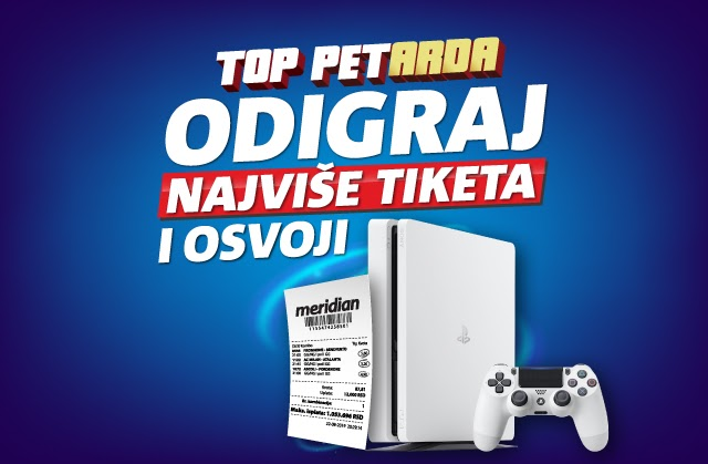 Meridianbet: Kladi se na najjače evropske lige i čeka te Sony 4 na poklon