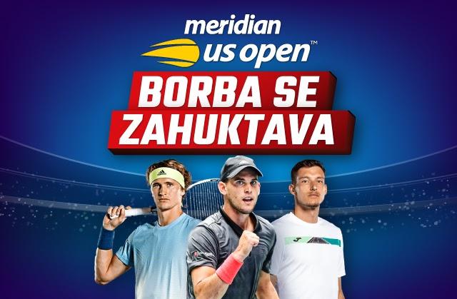 """Zahuktava se teniska sezona - nikad """"luđa"""" završnica Gren slem turnira za dobitne tikete i bonuse dobrodošlice"""