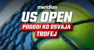 US open je počeo, a Meridianbet ima sjajnu vest za tebe!