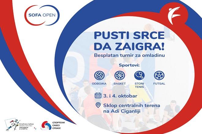 SOFA Open 2020 na Adi Ciganliji