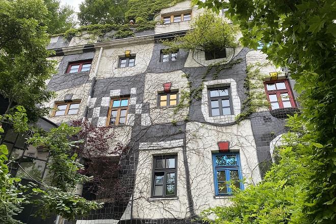 "Bečki ""zeleni muzej"" (foto: © Kunst Haus Wien/Kevin Grabowski)"
