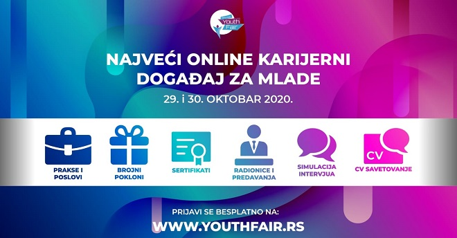 Belgrade Youth Fair 2020 - online!