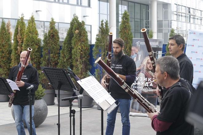 """Novi iznenadni koncert Beogradske filharmonije """"Muzika svuda"""" (foto: Marko Đoković)"""