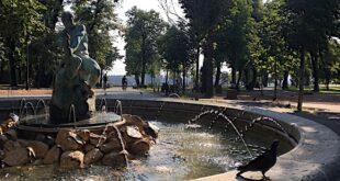 Beogradske vesti - 15. oktobar 2020: Fontana Ribar - Kalemegdan (foto: Aleksandra Prhal)