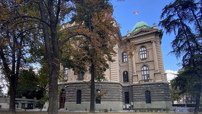 Beogradske vesti, 7. oktobar 2020. (foto: Aleksandra Prhal); Narodna skupština