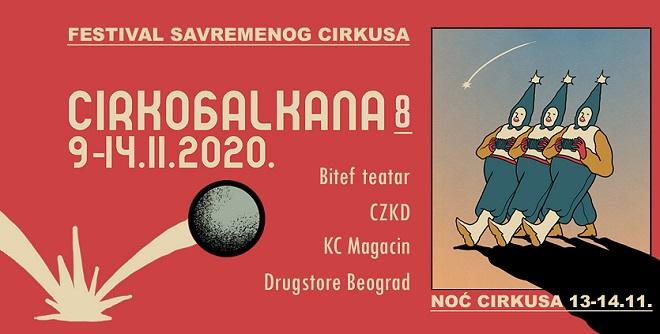 CirkoBalkana 2020 u Beogradu