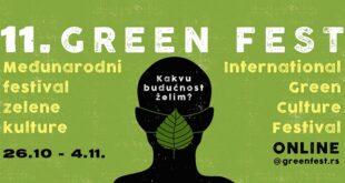 11. Međunarodni festival zelene kulture Green Fest: kakvu budućnost želim?