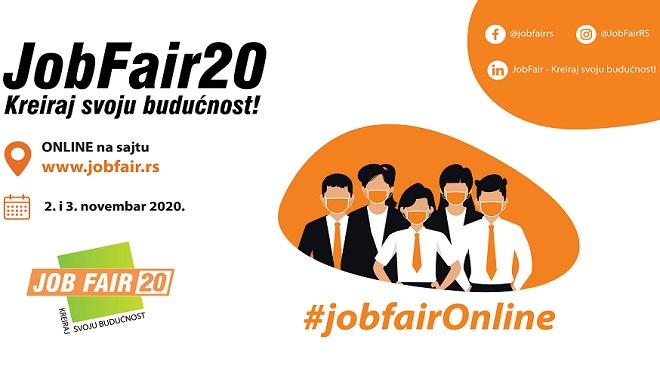 Online sajam poslova i praksi JobFair - Kreiraj svoju budućnost!
