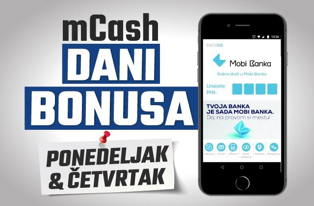 Uplati depozit u Meridianu putem mCash-a i osvoji 5% bonusa za klađenje
