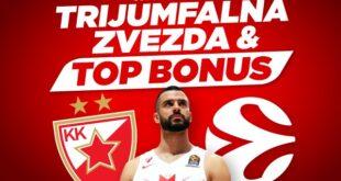 Crvena zvezda napada Baskoniju za prvu pobedu u Evroligi
