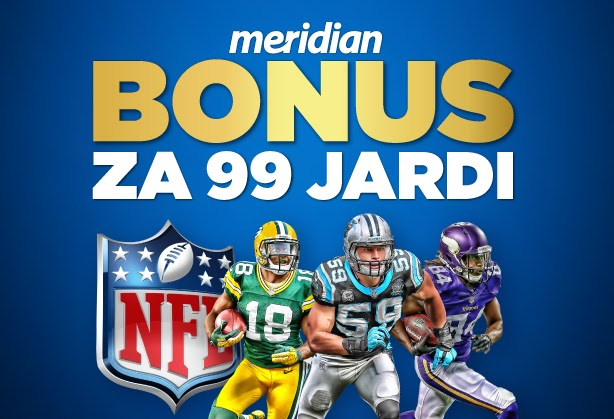 Meridianbet: Šest predloga za klađenje na NFL + bonus dobrodošlice