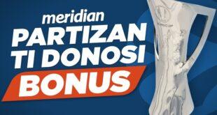 Partizan ruši Veneciju - Preuzmi 1.000 RSD bonusa i kladi se