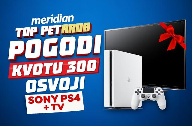 U Meridianu: Osvoji Sony i televizor za samo 500 RSD