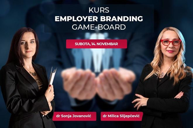 Kurs Employer Branding - Game Board na Univerzitetu Metropolitan