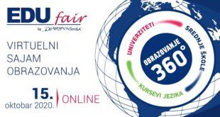 EduFair 2020: Virtuelni sajam obrazovanja