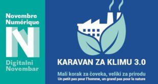 Manifestacija Digitalni novembar: Karavan za klimu 3.0