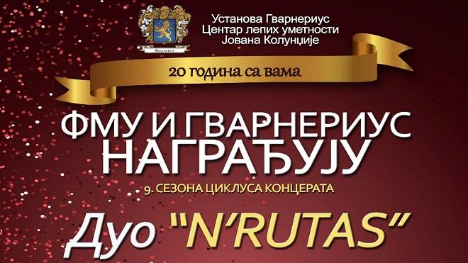 FMU i Gvarnerius nagrađuju: Duo N'Rutas