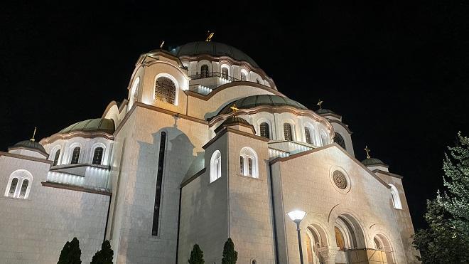 Hram Svetog Save (foto: Aleksandra Prhal)