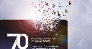 """Izložba """"70 godina Evropske konvencije o ljudskim pravima"""" (detalj sa plakata)"""