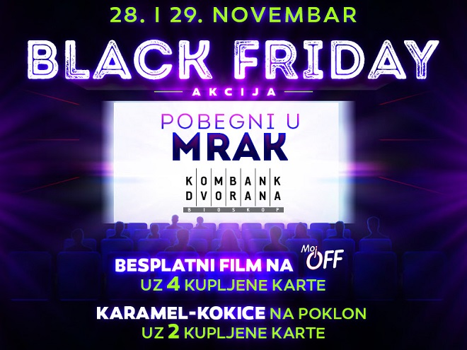 Kombank dvorana: Black Friday