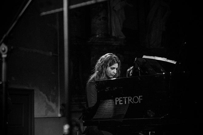 Koncerti u Galeriji Artget: Pijanistkinja Neda Hofman Sretenović (fotografiju obezbedio KCB)