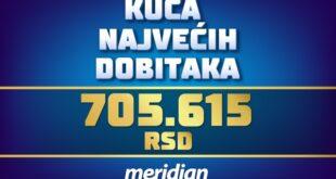 Meridianbet: Čovek stavio na tiket ovih pet parova i uzeo više od 700.000 dinara
