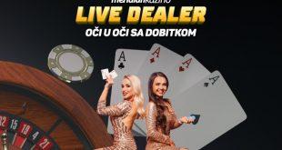 Live Dealer: Oseti čaroliju uživo kazina u Meridianu