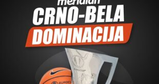 Meridianbet: Crno-beli napadaju - Partizan je domaćin Uniksu