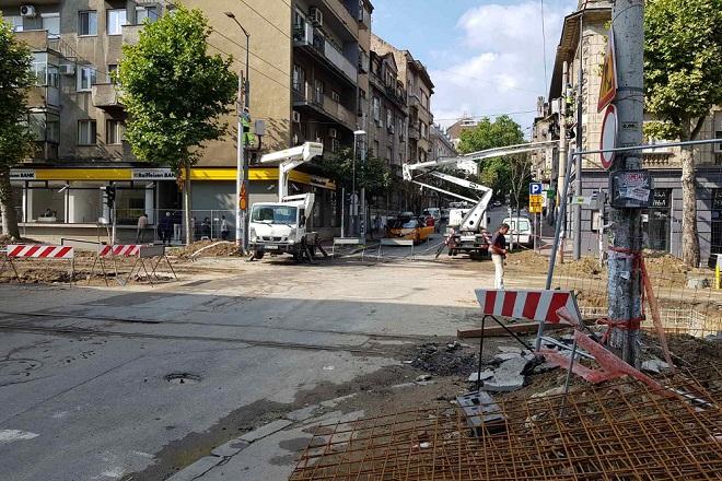 Građani mogu da daju predloge za budžet Grada Beograda (foto: Milan Miljević / radovi u Cara Dušana)