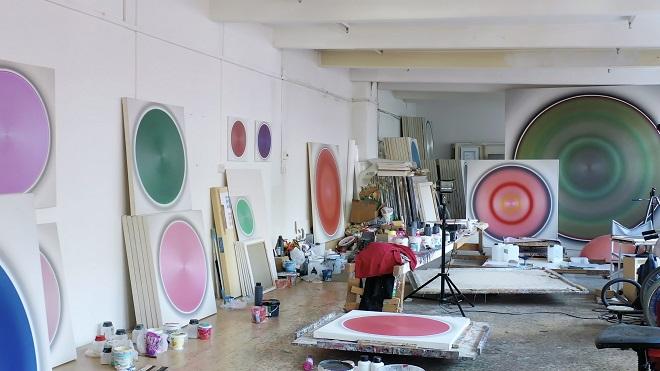Vienna Art Week - Robert Schaberl - Atelieransicht 2020 (foto: Robert Schaberl)