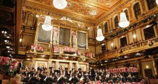 Bečki Novogodišnji koncert u vreme korone (foto: Bečka filharmonija © Dieter Nagl)