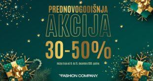Novogodišnji pokloni: Fashion Company pripremio prednovogodišnju akciju