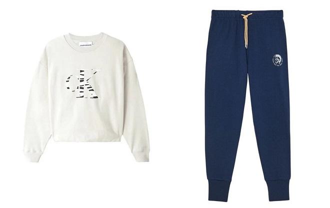 Fashion Company: Calvin Klein duks i Diesel muška trenerka