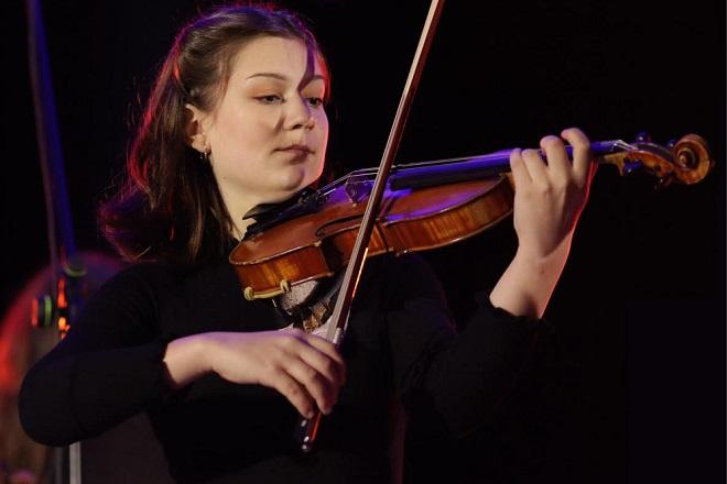 Novogodišnji koncert: Dunja Kalamir (foto: detalj sa plakata; ArtLink)
