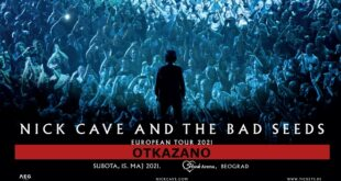 Otkazan koncert Nick Cave and The Bad Seeds u Beogradu