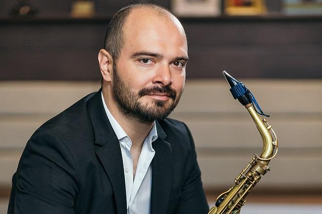 Saksofonista Milan Savić (fotografiju obezbedio IMS)