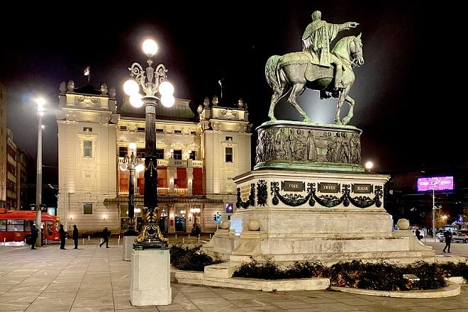 Vikend u Beogradu: Trg republike (foto: Aleksandra Prhal)