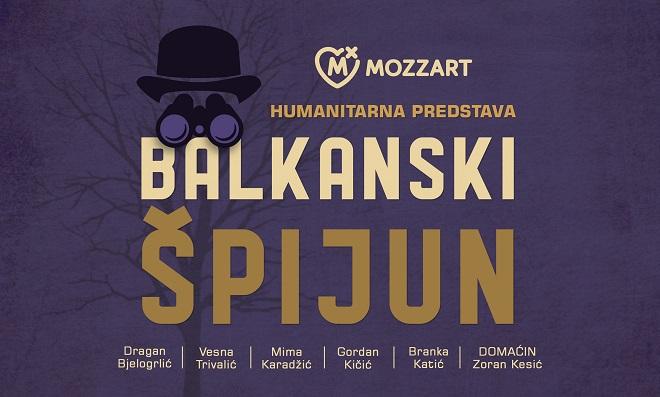 Balkanski špijun: Glumačke legende u humanitarnoj online predstavi za pomoć kulturi