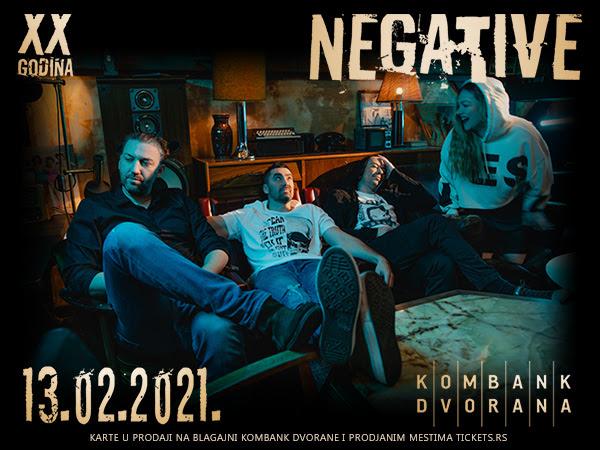 Koncert grupe Negative u Kombank dvorani (foto: KD promo)