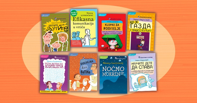 Kreativni centar: Nevena Lovrinčević -Knjige o roditeljstvu