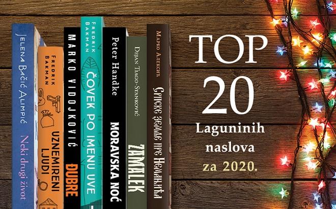 Laguna: Top 20 najtraženijih knjiga 2020. godine