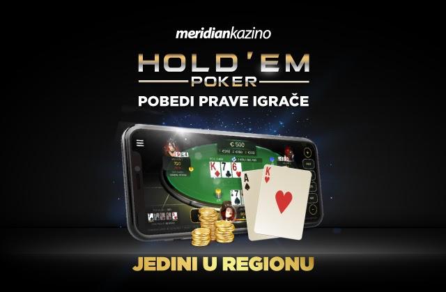 Meridianbet: Kratko i jasno - stigao je najjači Texas Hold'em Poker