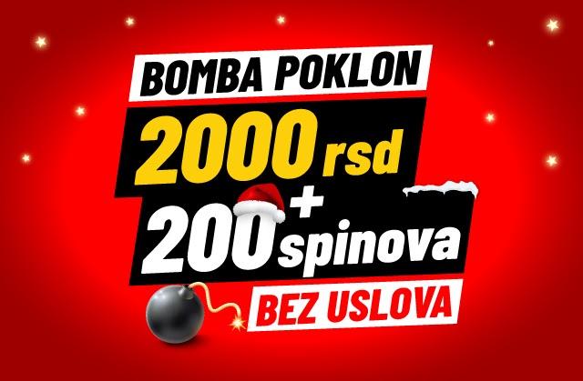 Meridian: KAKAV POKLON! Na klik si od 2.000 dinara i 200 spinova