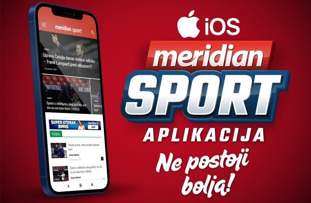 Meridian Sport sada i na iOS aplikaciji!